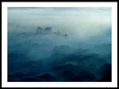 Art print titled Land of Fog by the artist rudi gunawan
