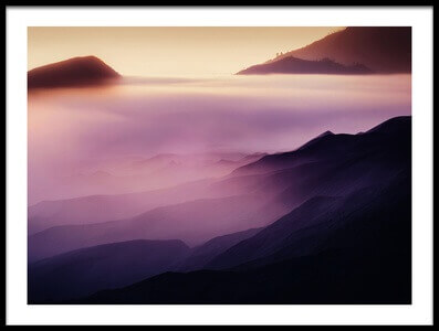 Buy this art print titled Land of Fog II by the artist rudi gunawan