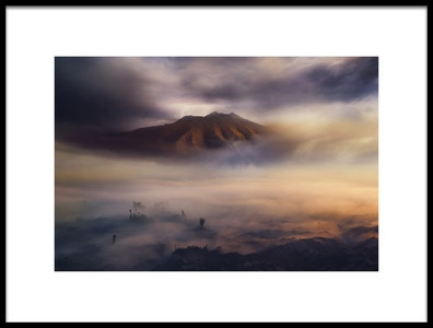 Art print titled Land of Fog III by the artist rudi gunawan