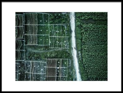 Art print titled Land of Idyllic Beauty by the artist Zhou Chengzhou