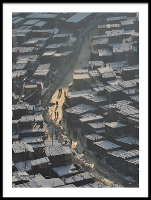 Buy this art print titled Larung Gar Buddist Institute by the artist sarawut intarob