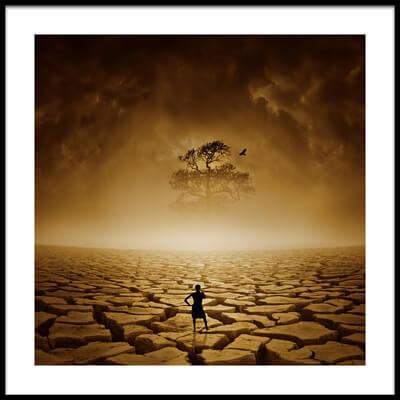Art print titled Last Hope by the artist Deniz Ener