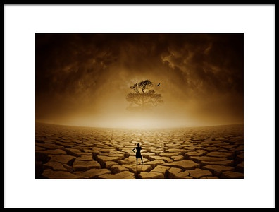 Art print titled Last Hope by the artist Deniz Ener