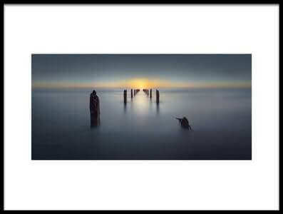 Art print titled Last Light by the artist Nadav Jonas
