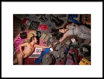 Art print titled Lden Est Un Bazar by the artist Claude Brazeau