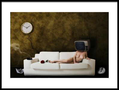 Buy this art print titled Le Rue Du L\'abandon by the artist Stefano Miserini
