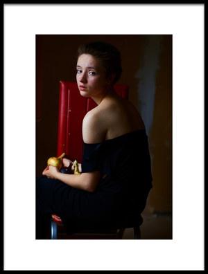 Buy this art print titled Lena by the artist Kharinova Uliana
