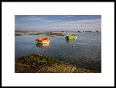Buy this art print titled Les Bateaux by the artist Monika Schwager