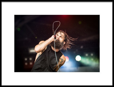 Buy this art print titled Letlive GMM 2014 by the artist Stijn V.