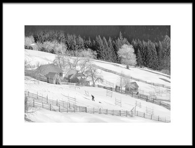 Art print titled Life In Black and White by the artist Sorin Onisor