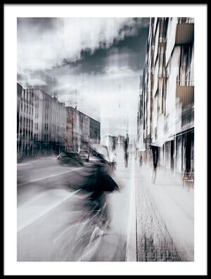 Art print titled Life In Copenhagen by the artist Carmine Chiriacò