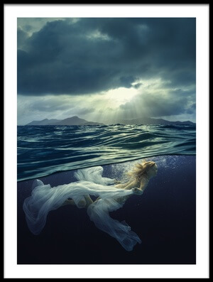 Buy this art print titled Light and Darkness by the artist Dmitry Laudin