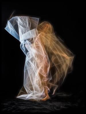 Buy this art print titled Light Dancer 1 by the artist Colin Dixon