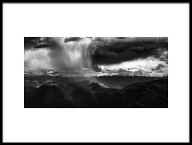 Art print titled Light of the Rain by the artist Stan Huang