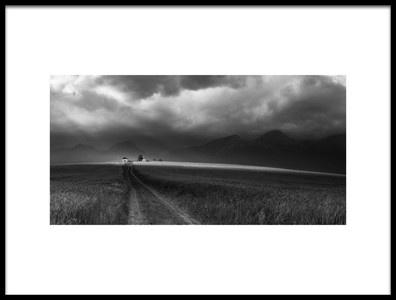 Art print titled Light On the Horizon by the artist Rasto Gallo