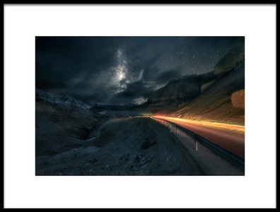 Art print titled Light the Night by the artist Selions