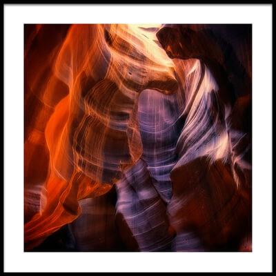 Art print titled Light Up Above by the artist Randy Dietmeyer