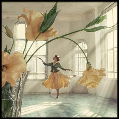 Buy this art print titled Like a Flower by the artist David Dubnitskiy