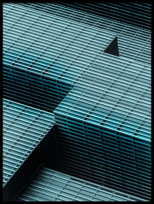Buy this art print titled Lines and Angles by the artist Colin Dixon