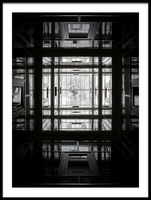 Art print titled Lines Reflections by the artist Semir Catovic