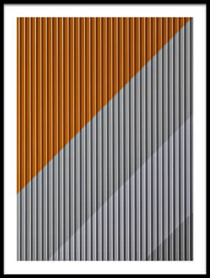 Buy this art print titled Linescolour and Shadow II by the artist Hans Peter Rank