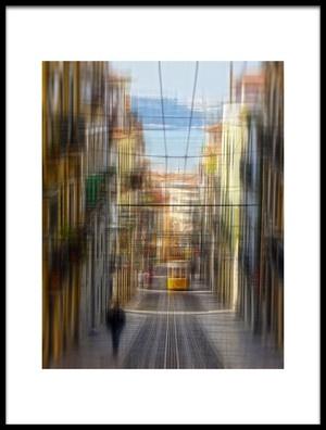Buy this art print titled Lisbon Vibrations by the artist Michel Romaggi