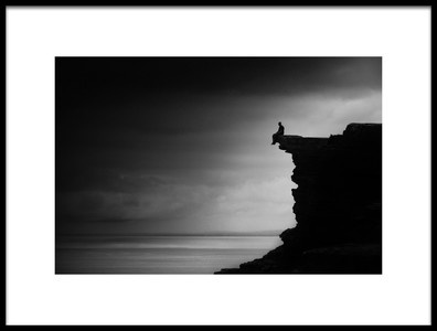 Art print titled Listening to the Silence by the artist Erminio Vanzan