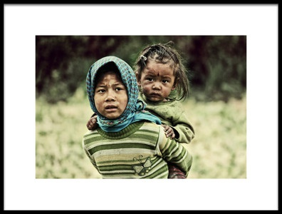 Buy this art print titled Little Mother by the artist M. Mehdi Fazelbeygi