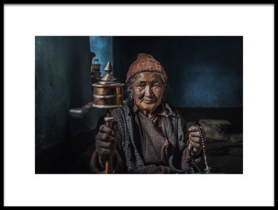 Art print titled Live Peacefully by the artist FATHI ALDARWISH