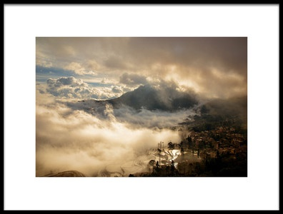 Buy this art print titled Living In the Clouds by the artist Torsten Hermann