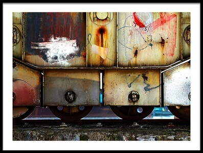 Buy this art print titled Locomotive by the artist Anna Niemiec