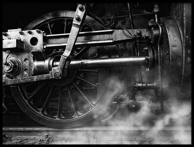 Buy this art print titled Locomotive Breath by the artist holger droste
