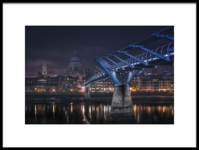 Buy this art print titled London by the artist Adhemar Duro