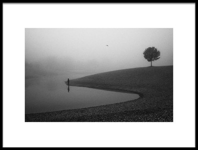 Art print titled Loneliness by the artist Matija Posavec