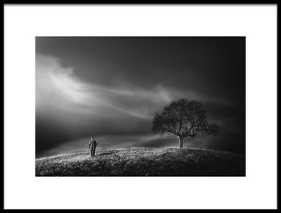 Art print titled Loneliness by the artist Yasemin Bakan