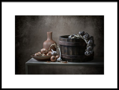 Art print titled Loneliness and Light by the artist Margareth Perfoncio