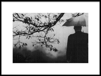 Art print titled Lonely by the artist Teruhiko Tsuchida