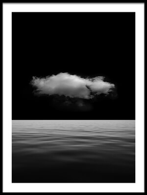 Buy this art print titled Lonely Cloud by the artist Stefan Eisele