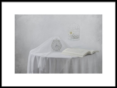 Art print titled Lonely Hours by the artist Margareth Perfoncio