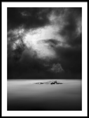 Art print titled Lonely Rock I by the artist George Digalakis