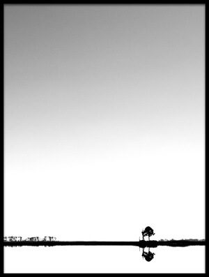Buy this art print titled Lonely Tree by the artist Fred Walker