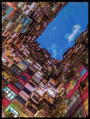 Buy this art print titled Look Up by the artist Andreas Agazzi