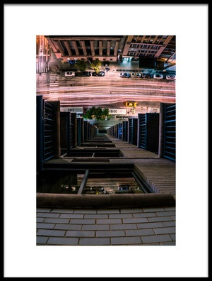 Art print titled Looking Down by the artist Christopher R. Veizaga