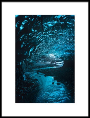 Buy this art print titled Lost and Frozen World by the artist Javier de la Torre