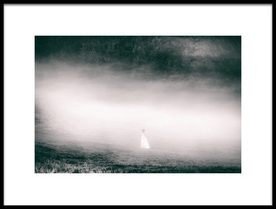 Art print titled Lost In the Morning by the artist Georgiana Mazilu