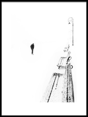 Buy this art print titled Lost In White by the artist Emilian Avrămescu