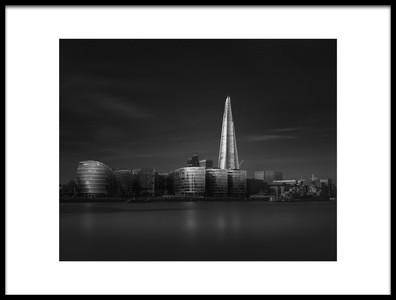 Art print titled Lucid Dream III  More London, Riverside by the artist Oscar Lopez