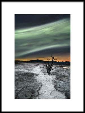 Buy this art print titled Magic Aurora by the artist Liloni Luca