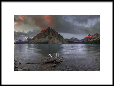 Art print titled Magic Light With Mystery Hands by the artist David Hua