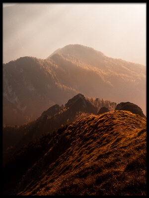 Art print titled Magic Moments In the Mountains by the artist Sandi Bertoncelj